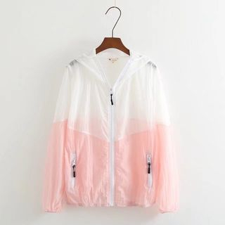 Sheer Zip Hoodie from Aigan