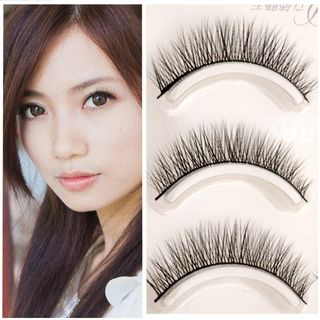 False Eyelashes 3 Pairs As Shown In Figure - One Size from Aimo