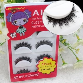 Set of 5: False Lashes from Aimo