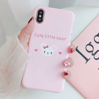 Bear Print Mobile Case - iPhone X / 8 / 8 Plus / 7 / 7 Plus / 6S / 6S Plus from Aion