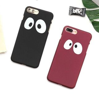 Cartoon Eye Print Mobile Case - iPhone X / 8 / 8 Plus / 7 / 7 Plus / 6s / 6s Plus from Aion