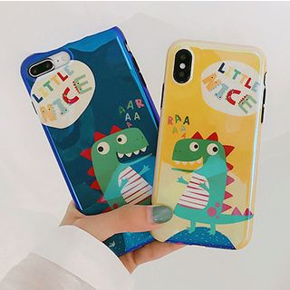 Dinosaur Print Mobile Case - iPhone X / 8 / 8 Plus / 7 / 7 Plus / 6S / 6S Plus from Aion