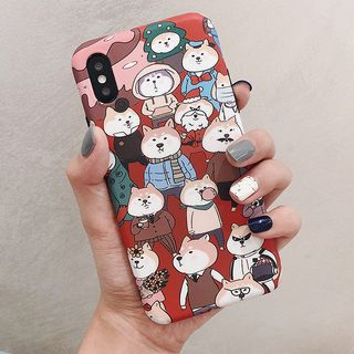 Dog Print Mobile Case - iPhone XS Max / XS / XR / X / 8 / 8 Plus / 7 / 7 Plus / 6s / 6s Plus from Aion