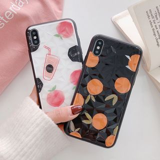 Fruit Print Mobile Case - iPhone XS Max / XS / XR / X / 8 / 8 Plus / 7 / 7 Plus / 6s / 6s Plus from Aion