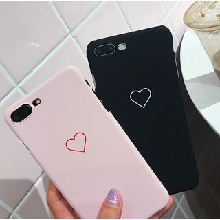 Heart Print Mobile Case - iPhone X / 7 / 7 Plus / 6S / 6S Plus / 5S from Aion