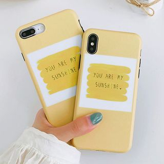 Lettering Mobile Case - iPhone X / 8 / 8 Plus / 7 / 7 Plus / 6S / 6S Plus from Aion