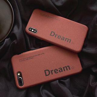 Lettering Mobile Case - iPhone XS Max / XS / XR / X / 8 / 8 Plus / 7 / 7 Plus / 6s / 6s Plus from Aion