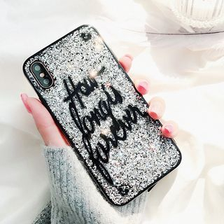 Lettering Phone Case - iPhone 6 / 6 Plus / 7 / 7 Plus / 8 / 8 Plus / X from Aion