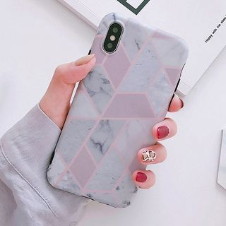Marble Panel Mobile Case - iPhone XS Max / XS / XR / X / 8 / 8 Plus / 7 / 7 Plus / 6s / 6s Plus from Aion
