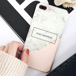 Marble Patterned Mobile Case - iPhone 8 / 8 Plus / 7 / 7 Plus / 6S / 6S Plus from Aion