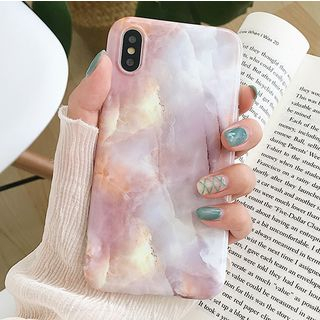 Marble Print Mobile Case - iPhone X / 8 / 8 Plus / 7 / 7 Plus / 6S / 6S Plus from Aion