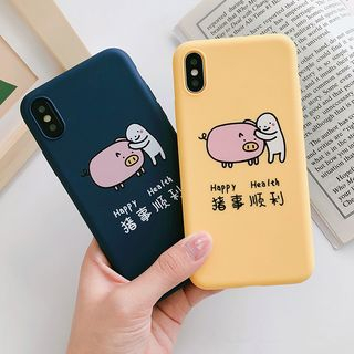 Pig Print Mobile Case - iPhone X / 8 / 8 Plus / 7 / 7 Plus / 6S / 6S Plus from Aion