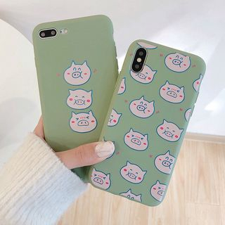 Pig Print Mobile Case - iPhone XS Max / XS / XR / X / 8 / 8 Plus / 7 / 7 Plus / 6s / 6s Plus from Aion
