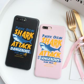 Shark Print Mobile Case - iPhone XS / X / 8 / 8 Plus / 7 / 7 Plus / 6s / 6s Plus from Aion