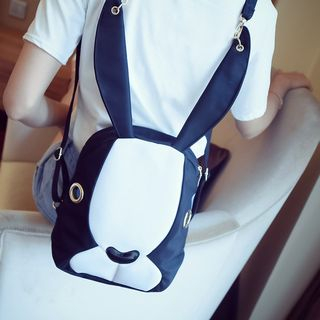 Colour Block Backpack from Aishang