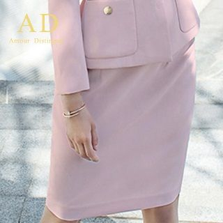Pocket-Accent Blazer / Pencil Skirt from Aision