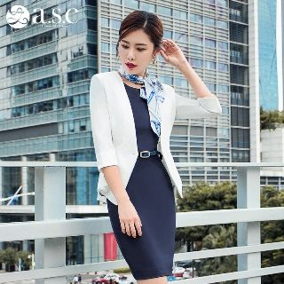 Set: Blazer + Short-Sleeve Dress from Aision