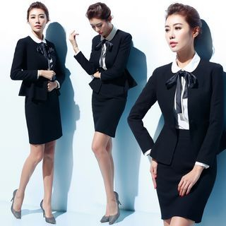 Single-Button Blazer / Vest / Blouse / Pants / Skirt from Aision