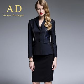 Stitched Blazer / Pencil Skirt / Trousers from Aision