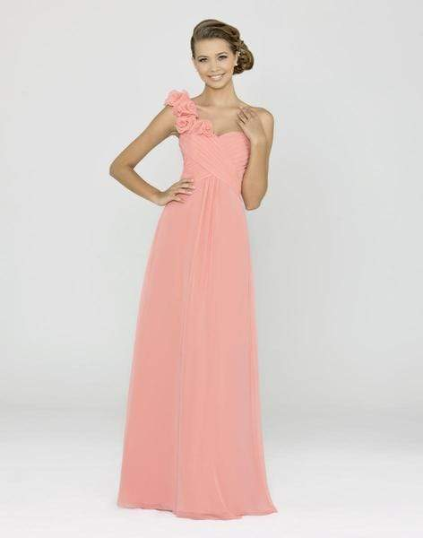Alexia Designs - 4152 Ruffled Sweetheart Chiffon A-line Gown from Alexia Designs
