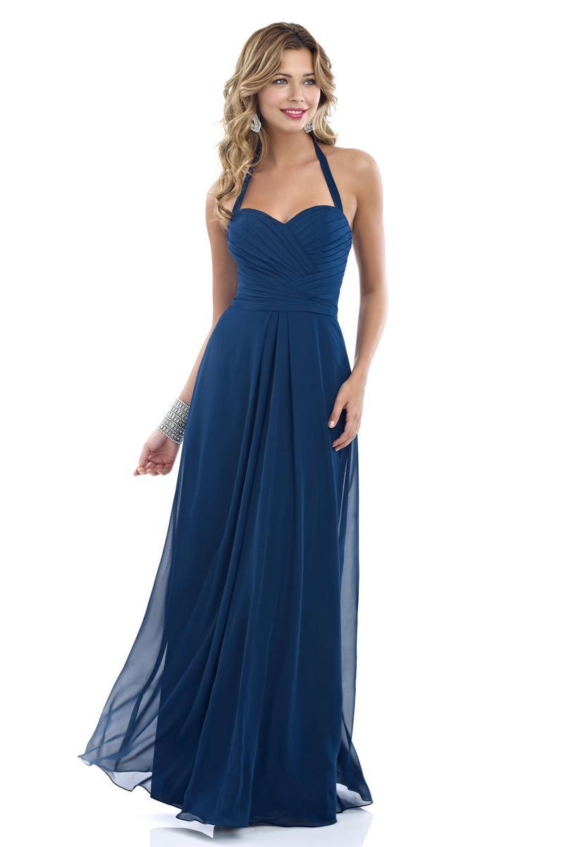 Alexia Designs - 4244 Pleated Halter Chiffon A-line Dress from Alexia Designs