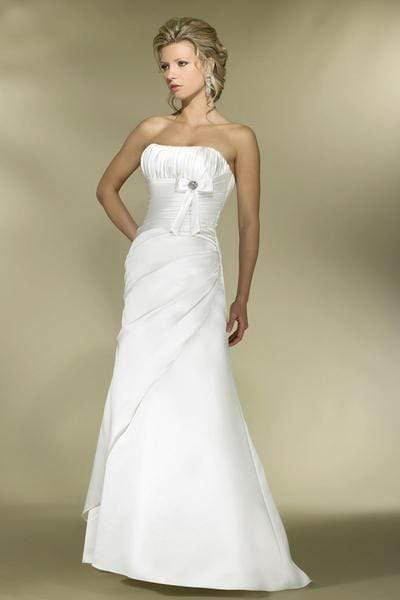Alexia Designs - IB04 Strapless Pleated A-Line Wedding Dress from Alexia Designs
