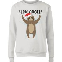 Slow Angels Women's Sweatshirt - White - S - White from The Christmas Collection