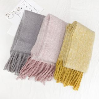 Fringed Scarf from Alvino