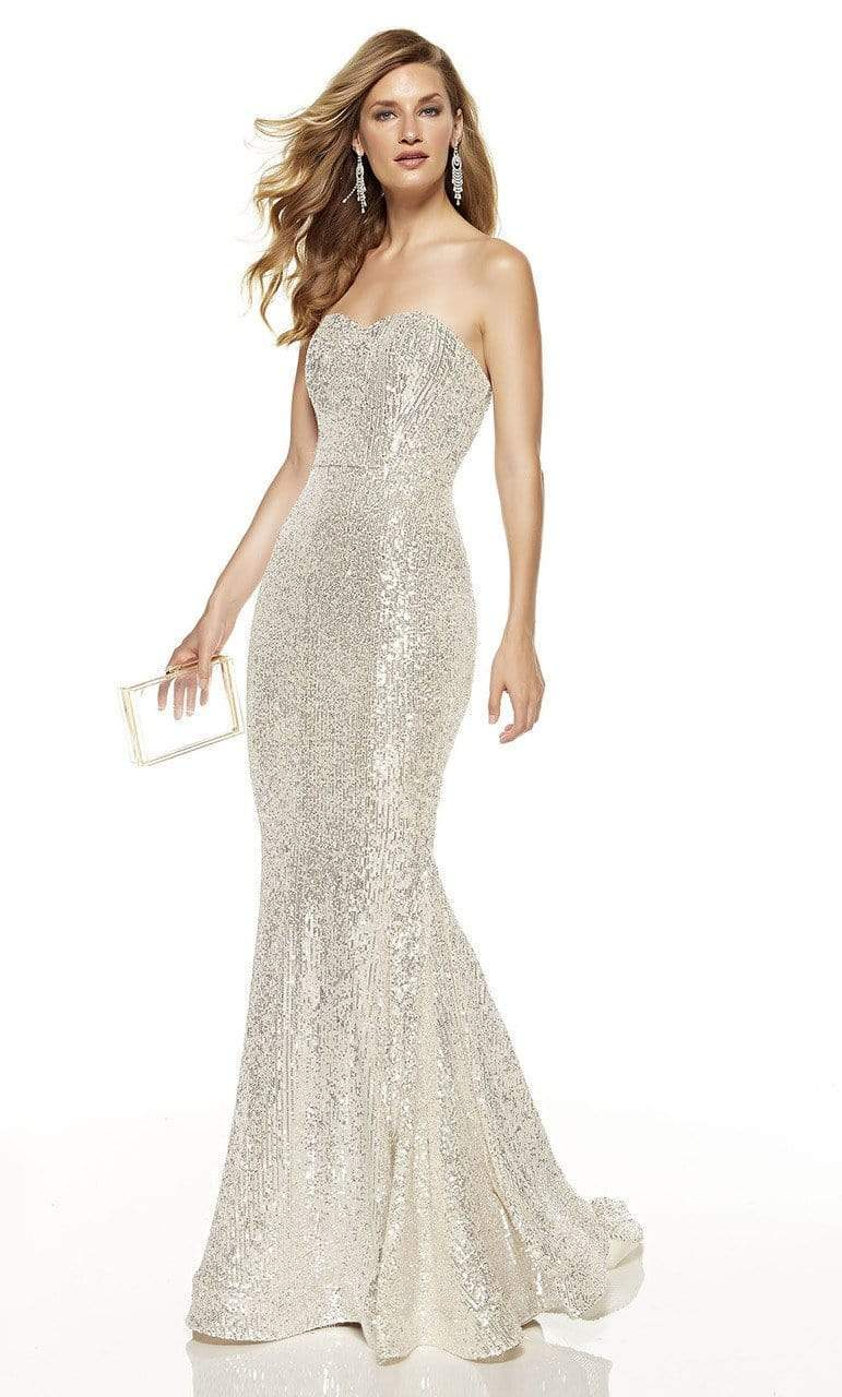 Alyce Paris - 60809 Strapless Sequined Mermaid Dress from Alyce Paris