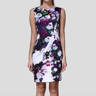 Floral Sleeveless Dress from Ameous