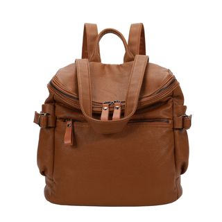 Faux Leather Backpack from Annmuu
