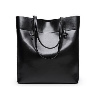 Genuine Leather Tote from Annmuu