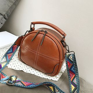 Pattern Strap Crossbody Bag from Annmuu