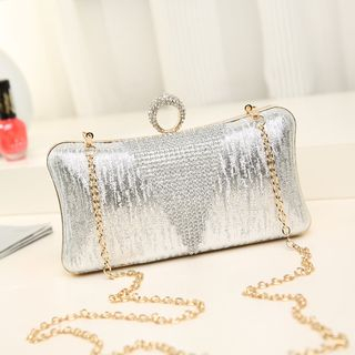 Rhinestone Clutch from Annmuu