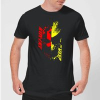 Ant-Man And The Wasp Split Face Men's T-Shirt - Black - S - Black from Marvel