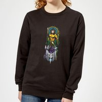 Aquaman and Ocean Master Women's Sweatshirt - Black - XS - Black from Aquaman