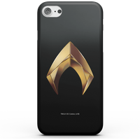 Aquaman Gold Logo Phone Case for iPhone and Android - iPhone 8 - Tough Case - Gloss from DC Comics