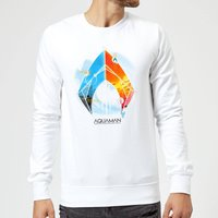 Aquaman Back To The Beach Sweatshirt - White - XXL - White from Aquaman