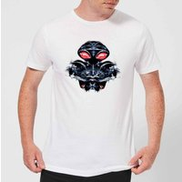 Aquaman Black Manta Sea At War Men's T-Shirt - White - XL - White from Aquaman