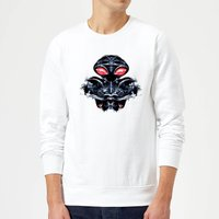 Aquaman Black Manta Sea At War Sweatshirt - White - M - White from Aquaman