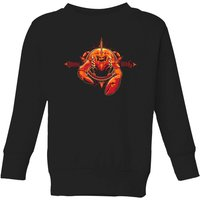 Aquaman Brine King Kids' Sweatshirt - Black - 3-4 Years - Black from Aquaman