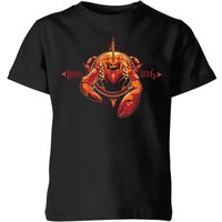 Aquaman Brine King Kids' T-Shirt - Black - 3-4 Years - Black from Aquaman