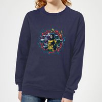 Aquaman Circular Portrait Women's Sweatshirt - Navy - XL - Navy from Aquaman