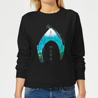 Aquaman Mera Logo Women's Sweatshirt - Black - XS - Black from Aquaman