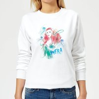 Aquaman Mera Women's Sweatshirt - White - XXL - White from Aquaman