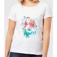 Aquaman Mera Women's T-Shirt - White - XXL - White from Aquaman