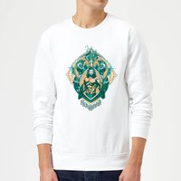 Aquaman Seven Kingdoms Sweatshirt - White - L - White from Aquaman