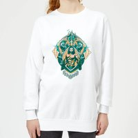 Aquaman Seven Kingdoms Women's Sweatshirt - White - L - White from Aquaman