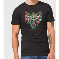 Aquaman Unite The Kingdoms Men's T-Shirt - Black - M - Black from Aquaman