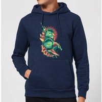 Aquaman Xebel Hoodie - Navy - S - Navy from Aquaman